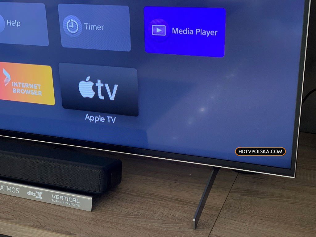 Apple TV na telewizorach Sony Android TV