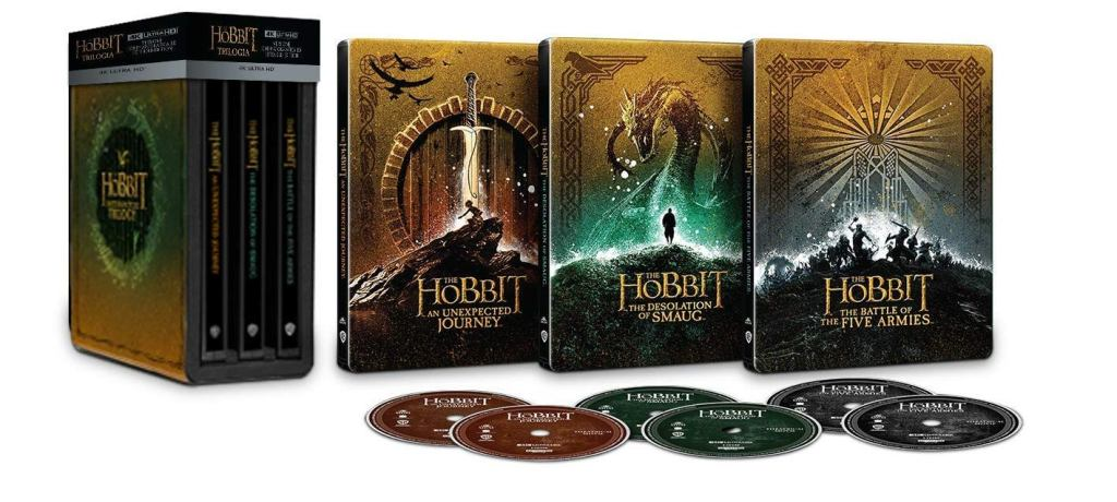 Hobbit 4K Ultra HD Blu-ray wydanie steelbook