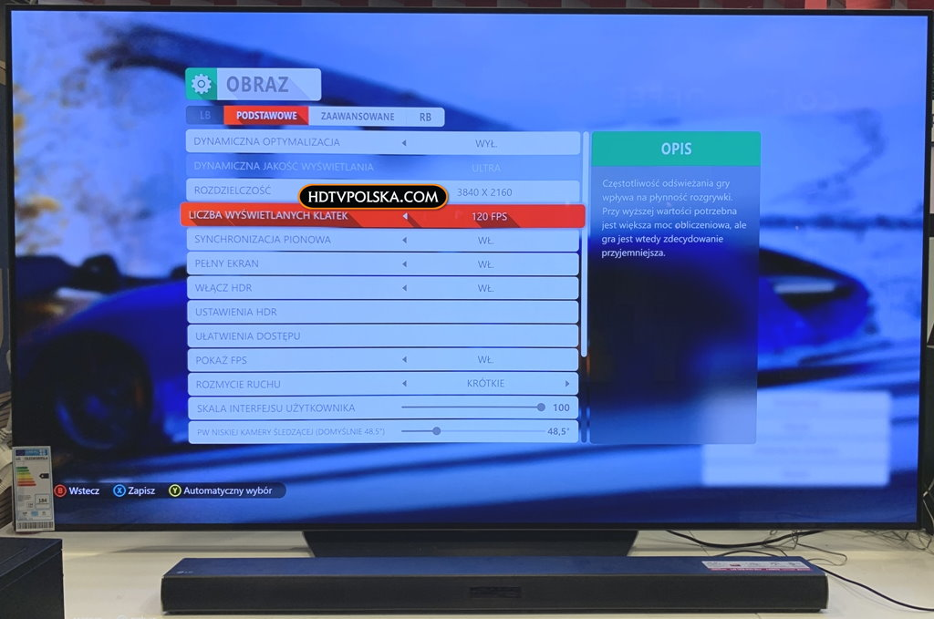 LG OLED B9 posiada HDMI 2.1 Wolf