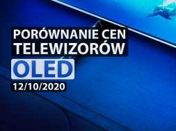 Porównanie cen telewizorów OLED 12/10/2020