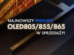 Promocja Philips OLED 855 taniej o 2000 zł promocja