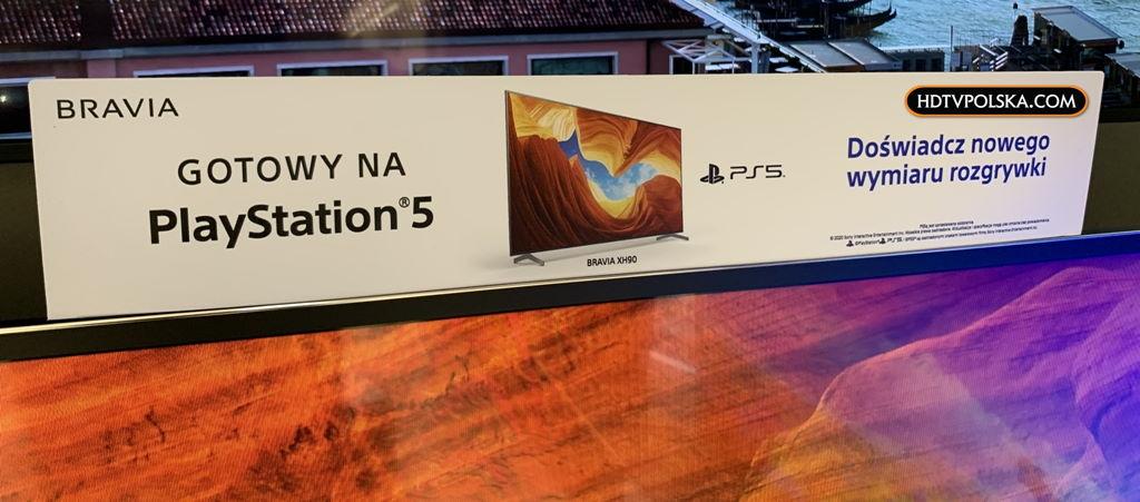 Sony XH90 gotowy na HDMI 2.1 aktualizacja 2