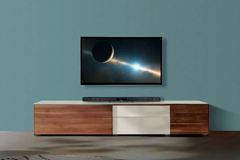 Teufel Cinebar 11 2.1-Set recenzja telewizor