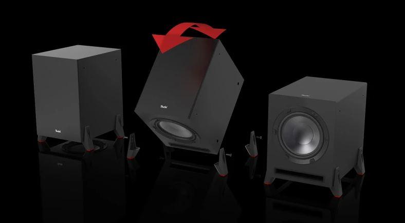 Teufel soundbar Cinebar Pro Surround 4.1-Set test sybwoofer