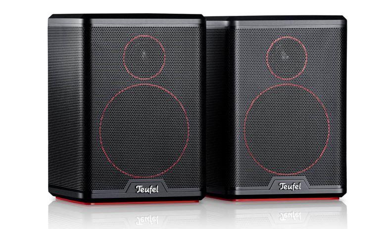 Teufel soundbar Cinebar Pro Surround 4.1-Set test tylne głośniki