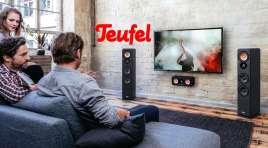Najlepszy stosunek cena jakość w audio? 12 lat gwarancji, 8 tygodni na próbę! Rozbudowujemy telewizor z europejskimi pionierami kina domowego Teufel