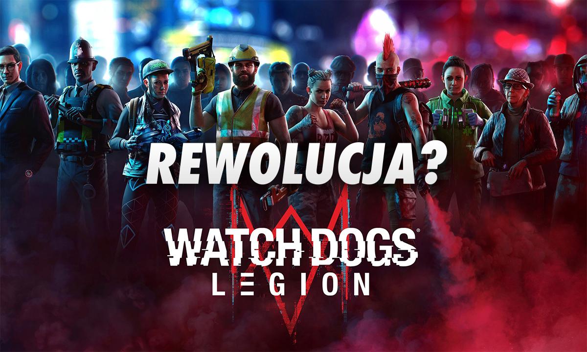 Watch Dogs: Legion – czy trzecia część dorównuje poprzednim? Jak wygląda cyfrowa rewolucja na telewizorze OLED?