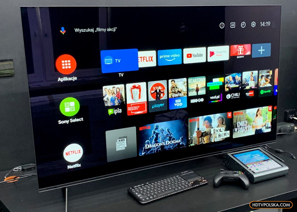 Zapowiedź test Sony OLED A8