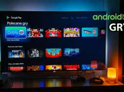 Android TV gry telewizor gaming Philips