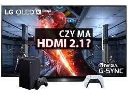 Czy lg oled b9 2019 ma HDMI 2.1? Test