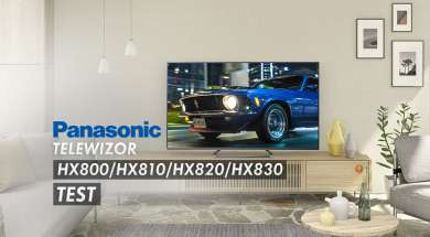Panasonic HX800/HX810/HX820/HX830 telewizor