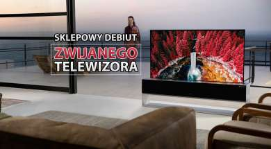 LG SIGNATURE R OLED telewizor zwijany rolowany