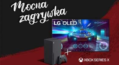 Telewizor LG OLED GX konsola Xbox Series X promocja zestaw