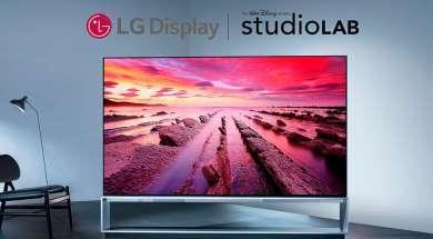 LG Display OLED Disney Studio Lab