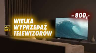 Media Expert wyprzedaż telewizorów z ekspozycji