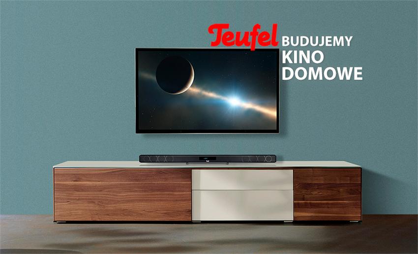 Twój TV ma za słaby dźwięk? Budujemy lepszy na zestawach Teufel – pioniera systemów THX, które możesz wypróbować aż przez 8 tygodni!