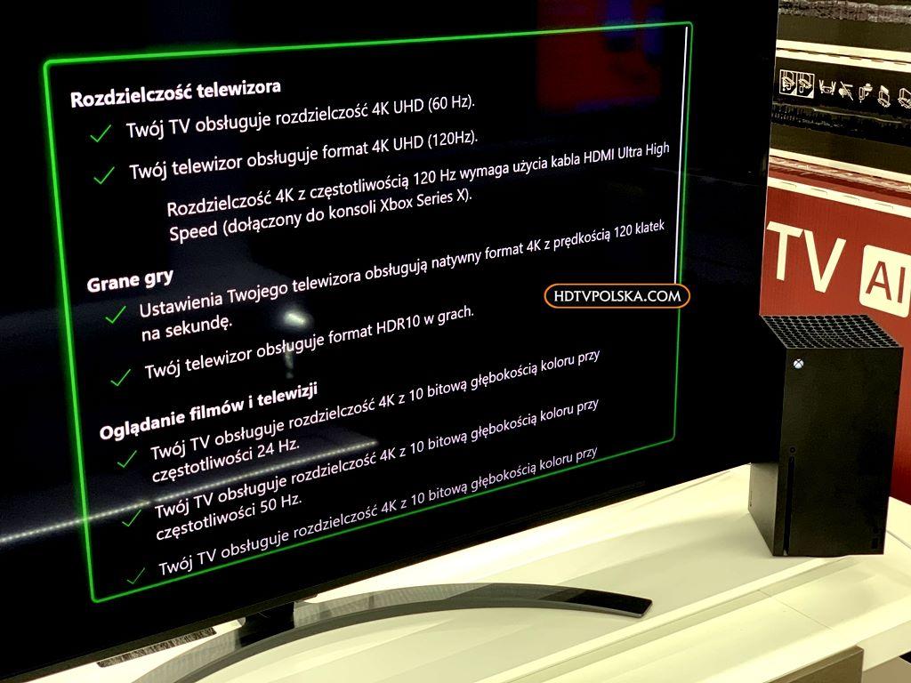 LG NANO86 xbox series x hdmi 2.1 4k 120hz