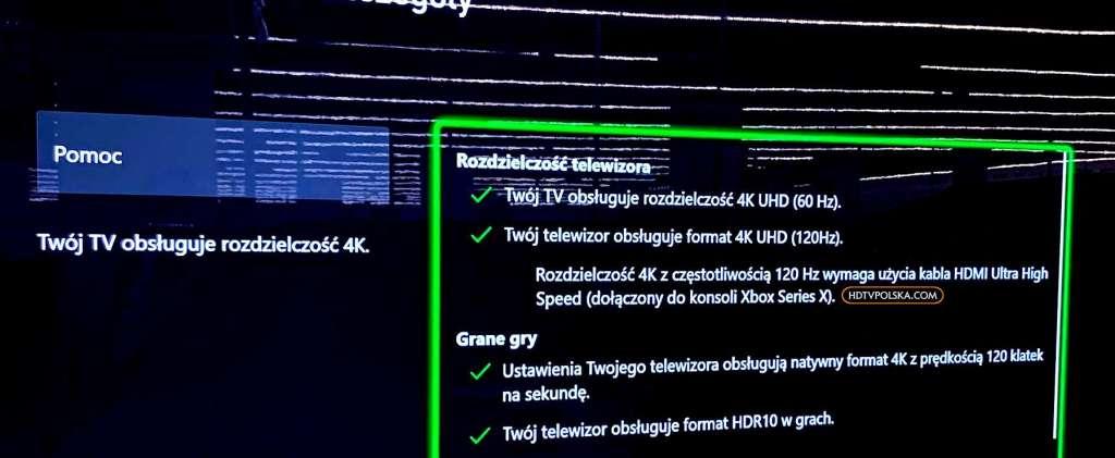 LG OLED BX Xbox Series X hdmi 2.1