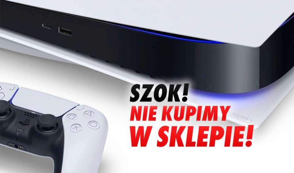 SZOK: Konsoli PS5 nie kupimy w dniu premiery w sklepie stacjonarnym! Pandemia krzyżuje plany Sony, premiera tylko online!