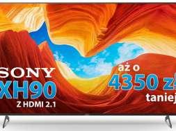 Promocja Sony XH90 HDMI 2.1 PS5 PlayStation 5