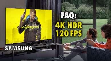 Samsung faq xbox series x telewizory qled jak ustawić hdr 120fps