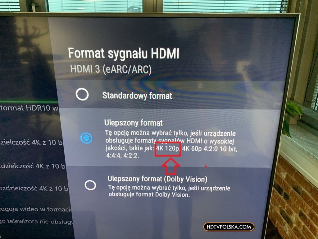 Sony XH90 z PS5 PlayStation 5 HDMI 2.1 120Hz 1