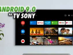 Android TV Sony telewizory upgrade Android 9
