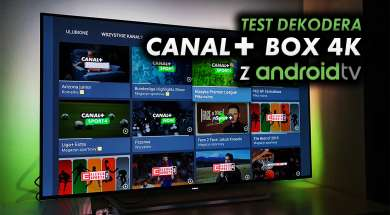 Canal+ dekoder Box 4K test
