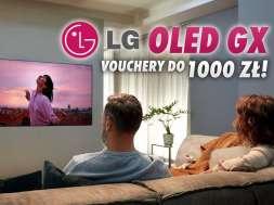 LG OLED GX Gallery Design promocja akcja voucher