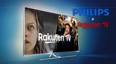 Philips Rakuten.tv promocja