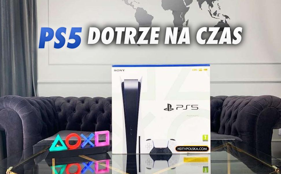 Zamówiłeś PS5 w przedsprzedaży? Wiodący polski elektromarket potwierdza terminową realizację i zapowiada sprzedaż w dniu premiery!