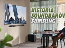 Samsung soundbary historia infografika