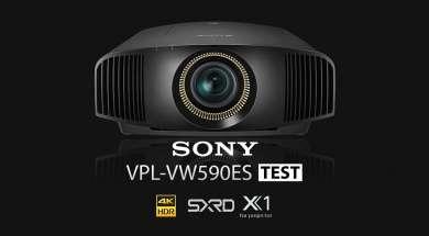 Sony VPL-VW590 projektor 4K test