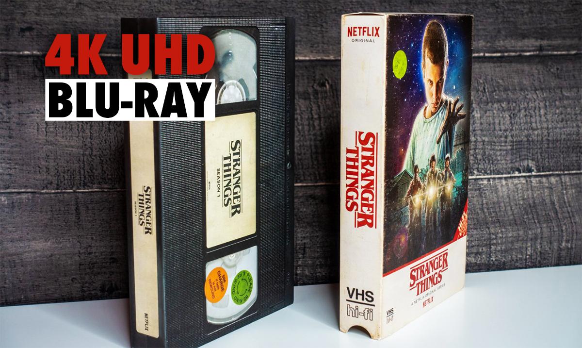 Jedyne takie wydania Stranger Things na 4K Ultra HD Blu-ray od Netfliksa! | RECENZJA i GALERIA