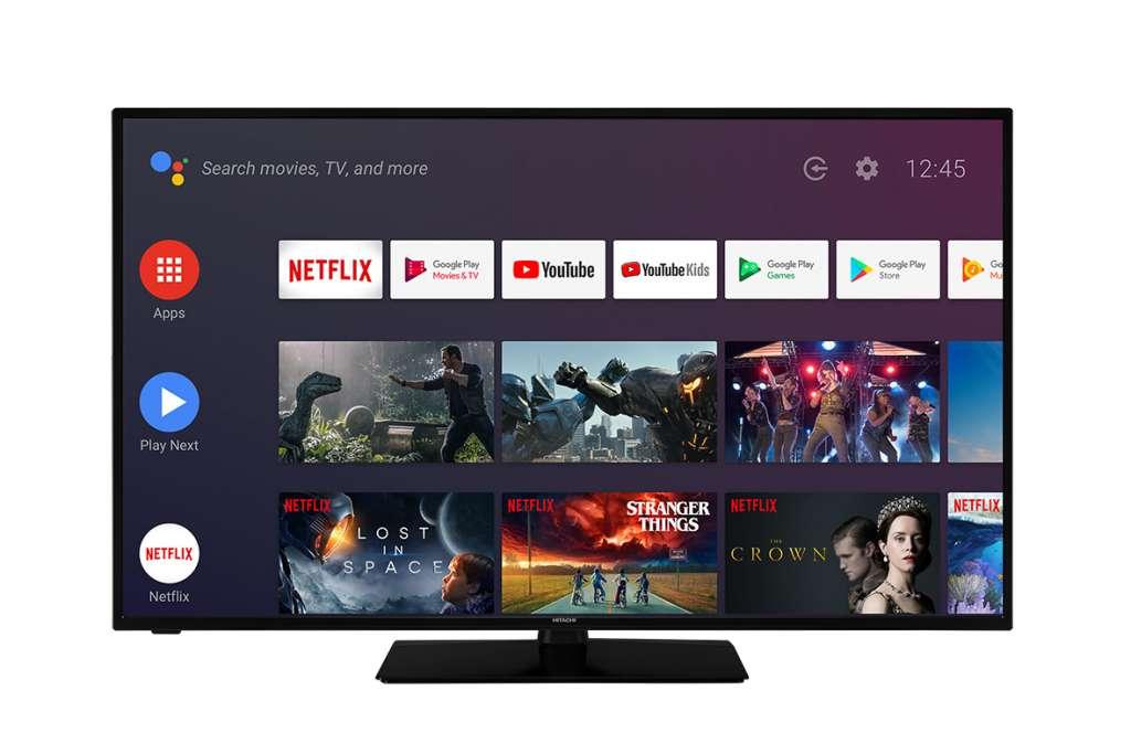 Hitachi: trzy nowe telewizory 4K z Android TV i Dolby Vision w świetnych cenach! Duże rozmiary i zestaw technologii dla kinomaniaków i graczy
