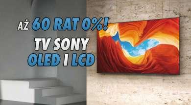 Sony OLED LCD telewizory raty Media Markt