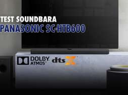 Panasonic SC-HTB600 soundbar test