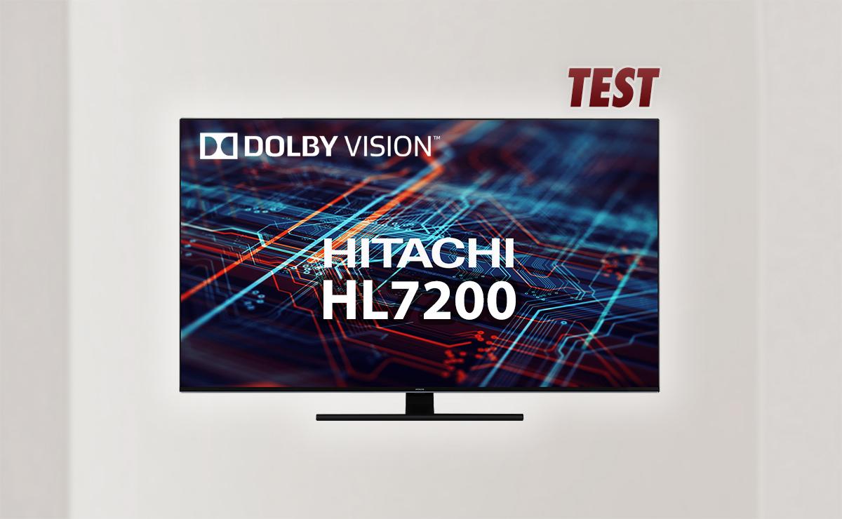 Telewizor Hitachi 58 HL7200 w świetnej cenie 2199 zł   TEST   Duży rozmiar i zestaw technologii dla kinomaniaków!