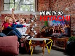 Hitachi telewizory 4K Android TV