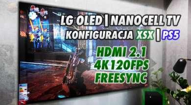 Jak skonfigurować telewizor LG OLED i NanoCell z xbox seirs x i ps5