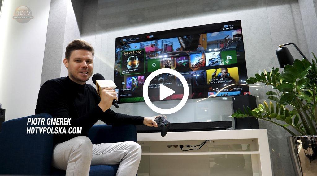 Jak skonfigurować telewizor LG OLED i NanoCell z xbox seirs x i ps5 film