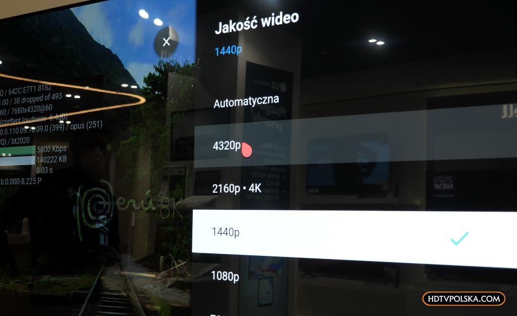 LG NANO99 YouTube 8K AV1 1