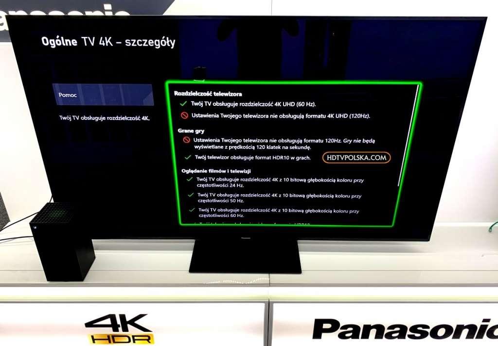 Test Panasonic HX940 LCD gry xbox ps5 2