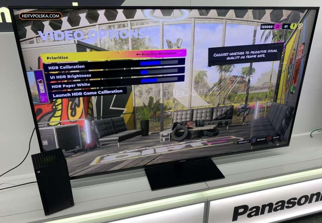 Test Panasonic HX940 LCD gry xbox ps5 4