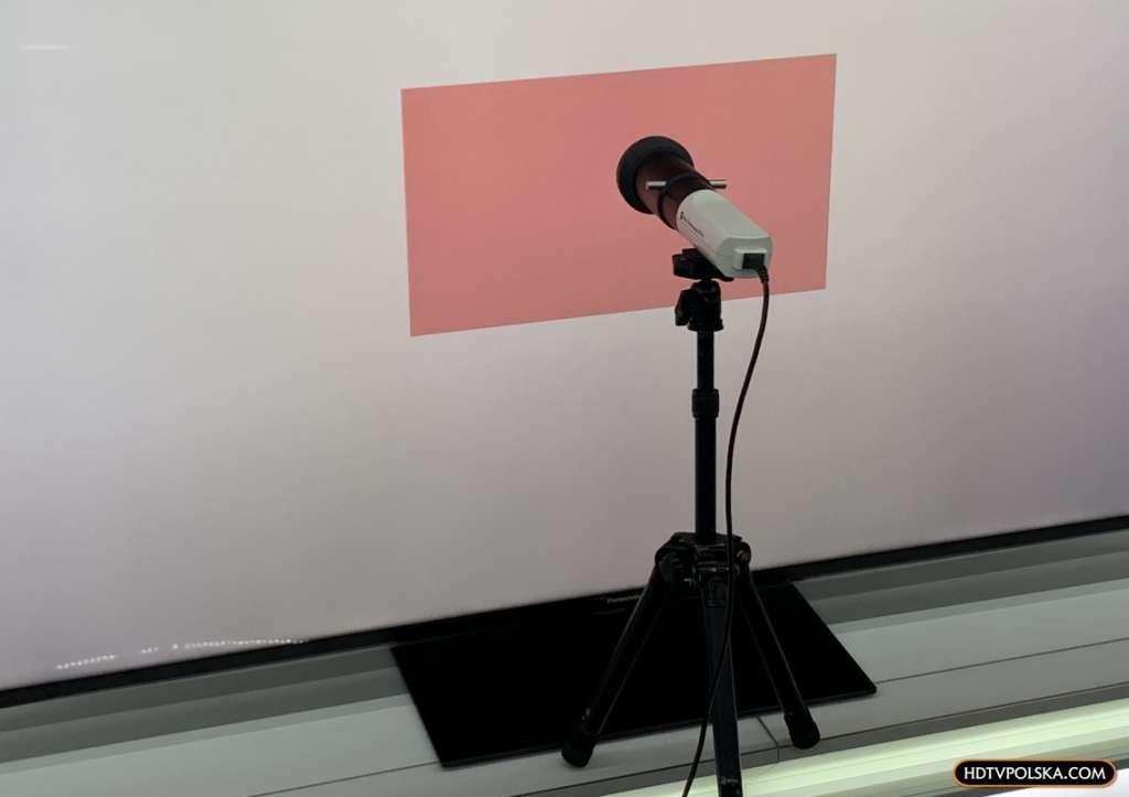 Test Panasonic HX940 LCD kalibracja kolorów