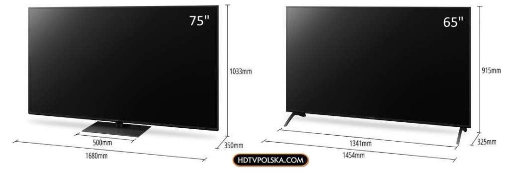 Test Panasonic HX940 LCD wymiary porównanie