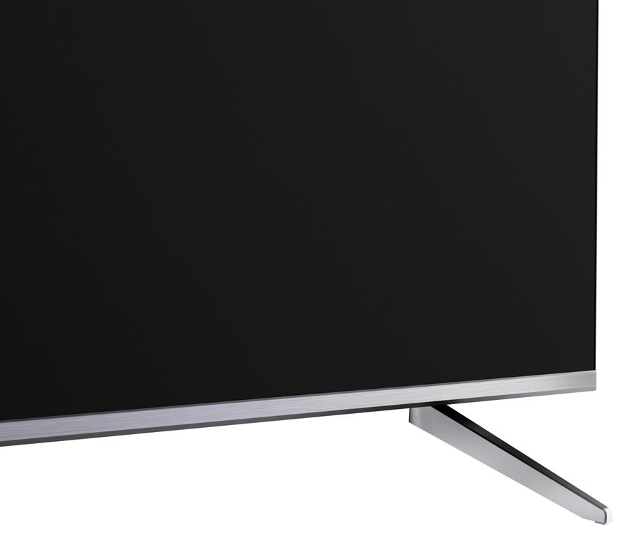 Test telewizor TCL P715 wygląd stopa