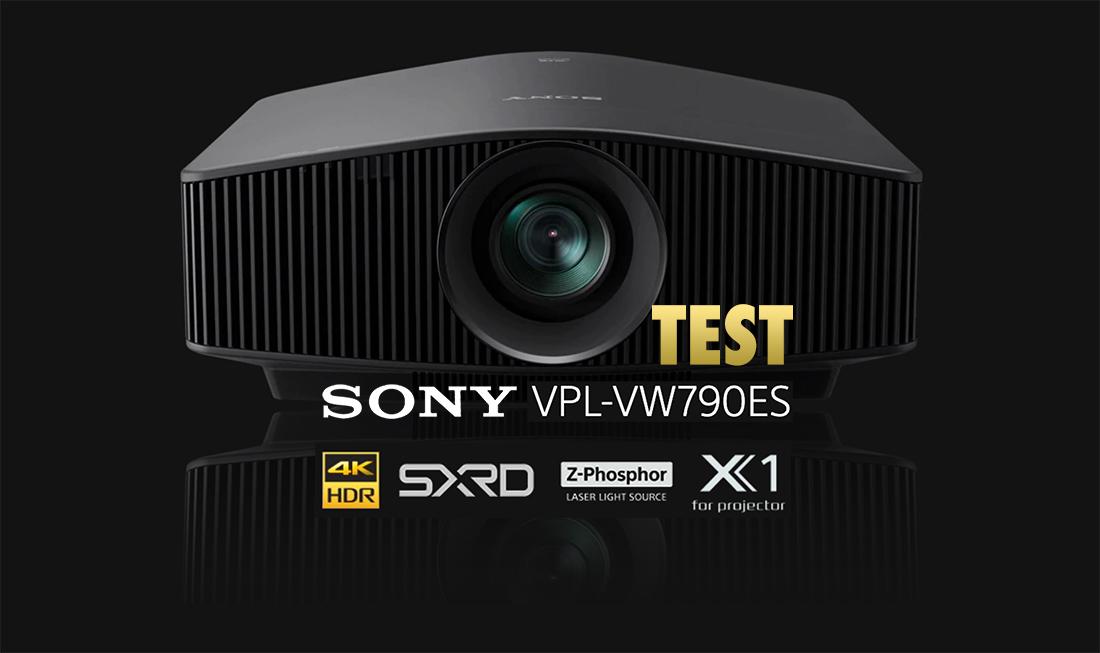 Sony VPL-VW790ES | TEST | Najnowszy projektor 4K HDR z laserowym źródłem światła do kina domowego
