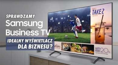 Samsung Business TV telewizory wyświetlacz profesjonalny