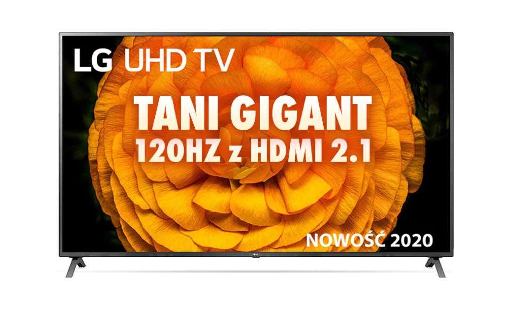 Sprawdzamy gigantyczny, 86 calowy TV 120Hz z HDMI 2.1 w promocyjnej cenie od LG. Jakie ma parametry, gdzie kupimy i do kiedy?